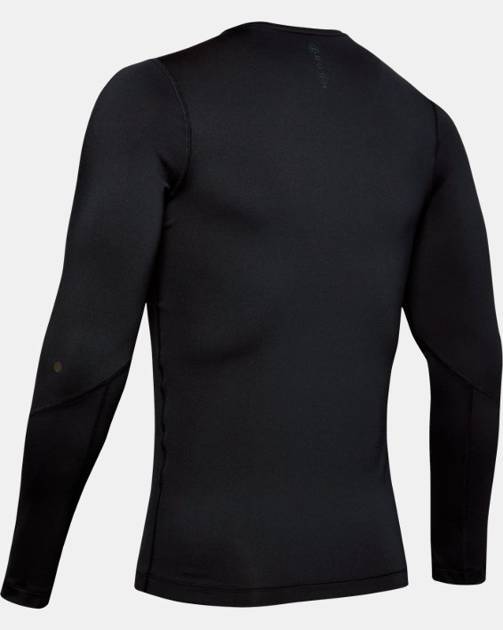 T-shirt à manches longues UA RUSH™ HeatGear® Compression pour homme, Black, pdpMainDesktop image number 5