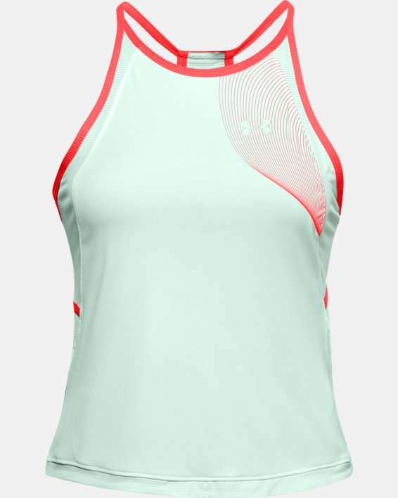 Women's UA Qualifier Iso-Chill Tank, Blue, pdpMainDesktop image number 0