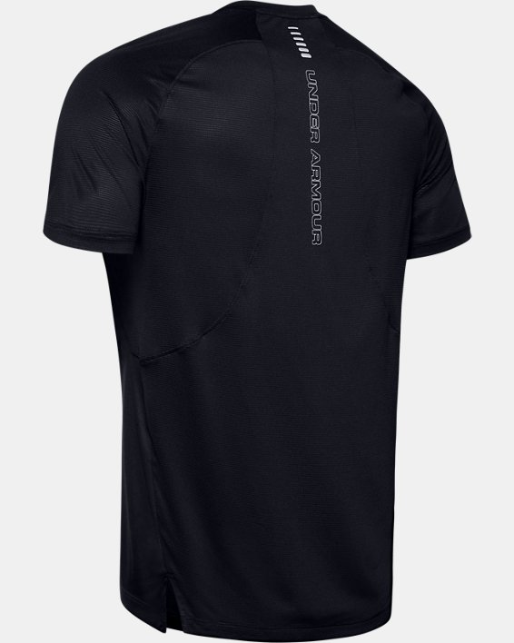 T-shirt à manches courtes UA Qualifier Iso-Chill Run pour homme, Black, pdpMainDesktop image number 4