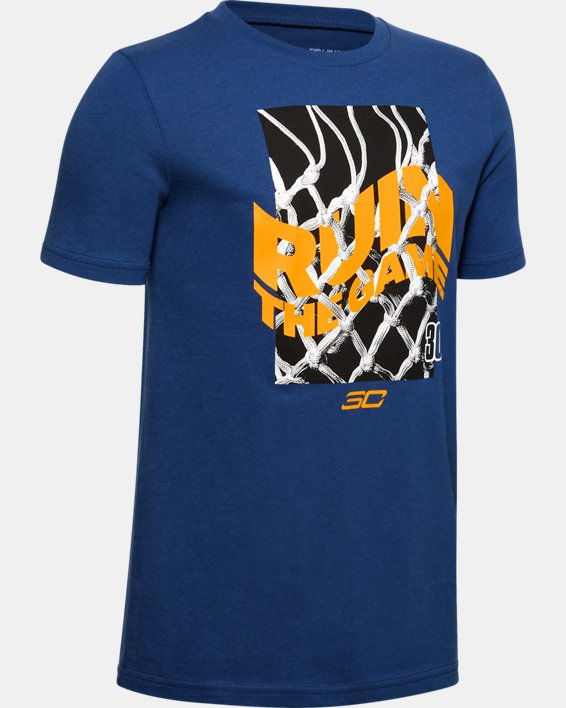 Boys' SC30™ Ruin The Game T-Shirt, Blue, pdpMainDesktop image number 0