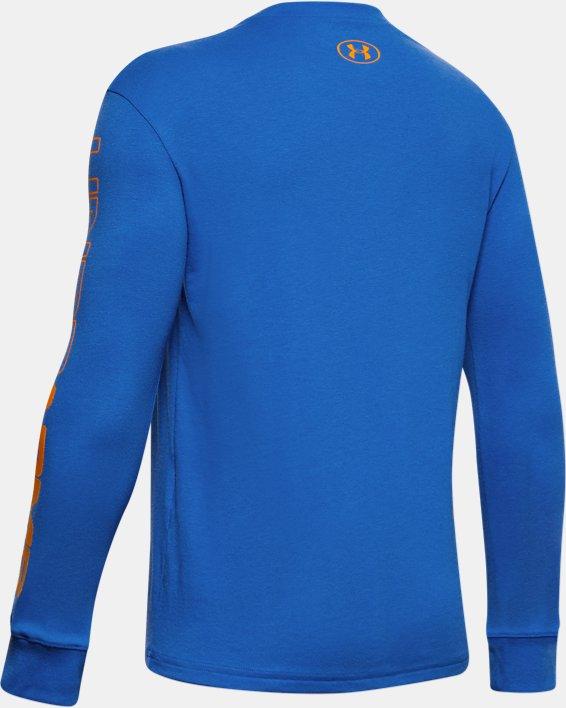 Boys' UA Only Beasts T-Shirt, Blue, pdpMainDesktop image number 1