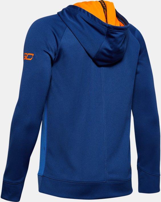 Boys' SC30™ Warm Up Full Zip, White, pdpMainDesktop image number 1