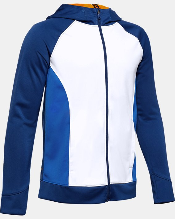 Boys' SC30™ Warm Up Full Zip, White, pdpMainDesktop image number 0