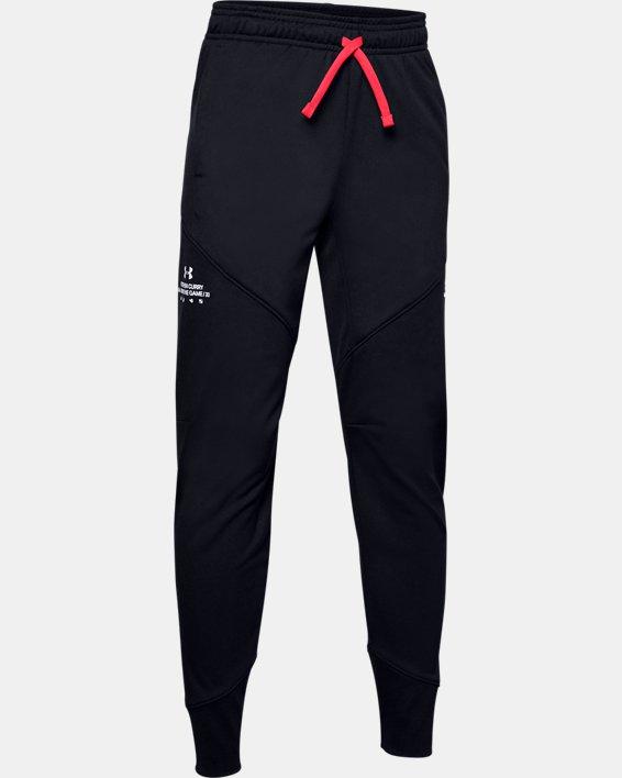 Boys' SC30™ Warm Up Pants, Black, pdpMainDesktop image number 0