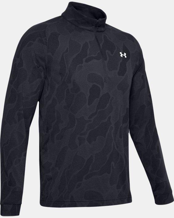 Sweat UA Vanish ½Zip pour homme, Black, pdpMainDesktop image number 3