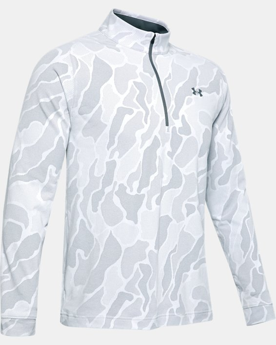 Men's UA Vanish ½ Zip, Gray, pdpMainDesktop image number 3