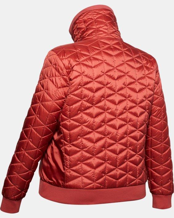 Women's ColdGear® Reactor Performance Jacket, Pink, pdpMainDesktop image number 4