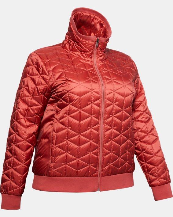 Women's ColdGear® Reactor Performance Jacket, Pink, pdpMainDesktop image number 3
