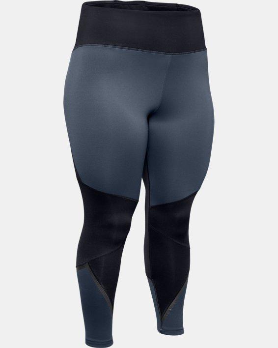Women's ColdGear® Armour Graphic Leggings, Gray, pdpMainDesktop image number 4