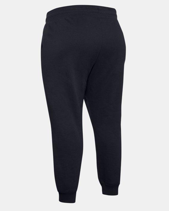 Pantalon UA Rival Fleece pour femme, Black, pdpMainDesktop image number 5