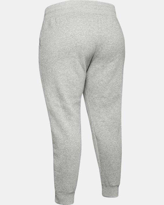Women's UA Rival Fleece Pants, Gray, pdpMainDesktop image number 5