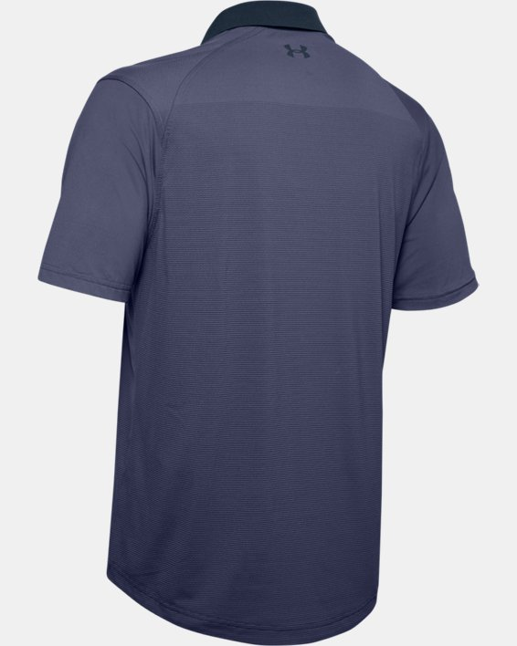 Men's UA Iso-Chill Gradient Polo, Blue, pdpMainDesktop image number 4
