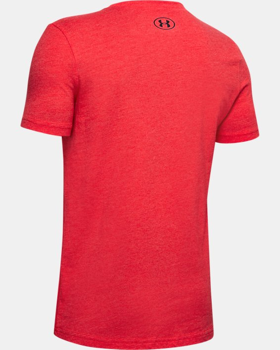 Boys' Curry Graphic Verbiage T-Shirt, Red, pdpMainDesktop image number 1