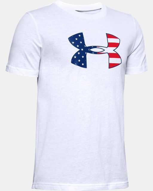 Boys' UA Freedom Stars & Stripes T-Shirt