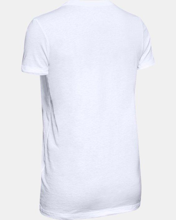 T-shirt à manches courtes UA Pride UWW pour femme, White, pdpMainDesktop image number 3