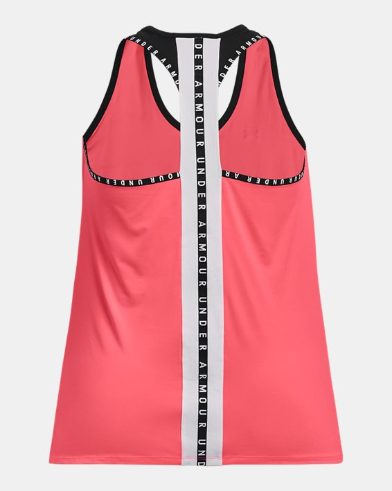Damen UA Knockout Tanktop, Pink, pdpMainDesktop image number 4