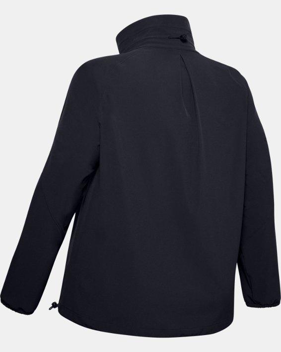 Women's UA RECOVER™ Woven Full Zip, Black, pdpMainDesktop image number 4