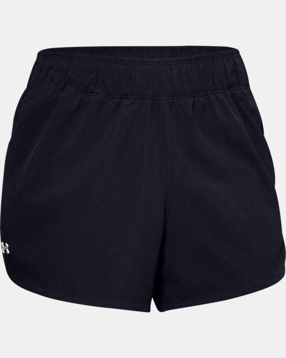 Women's UA RECOVER™ Woven Shorts, Black, pdpMainDesktop image number 3