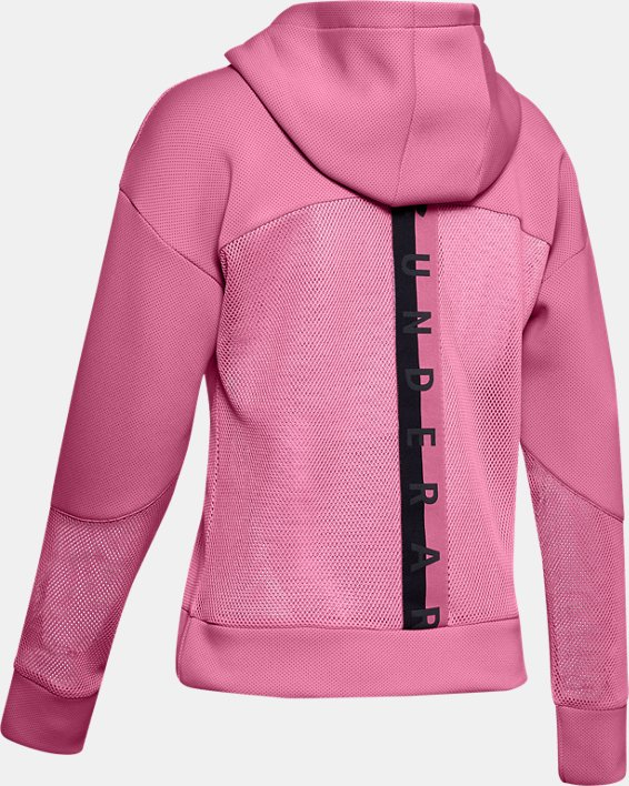 Women's UA /MOVE Hoodie, Pink, pdpMainDesktop image number 5