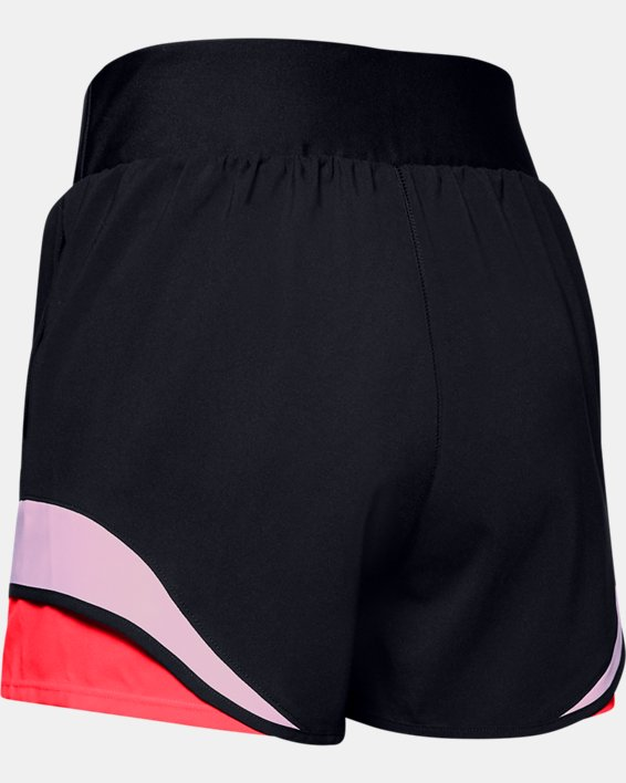 Women's UA Warrior Shorts, Black, pdpMainDesktop image number 4