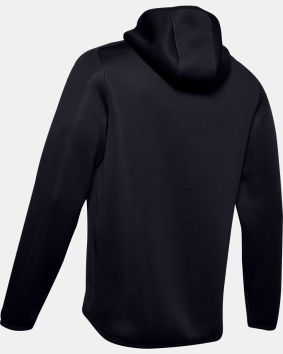 Men's UA /MOVE Full Zip Hoodie, Black, pdpMainDesktop image number 4