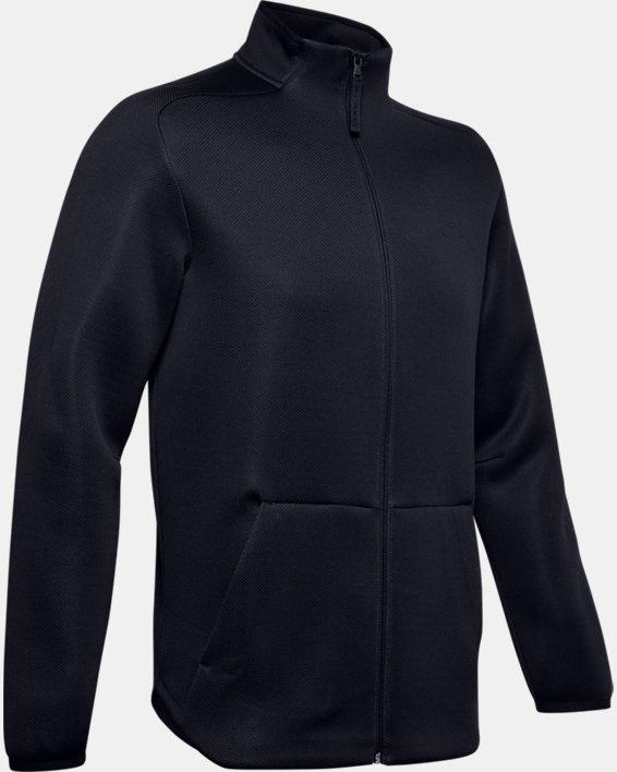 Men's UA /MOVE Track Jacket, Black, pdpMainDesktop image number 4