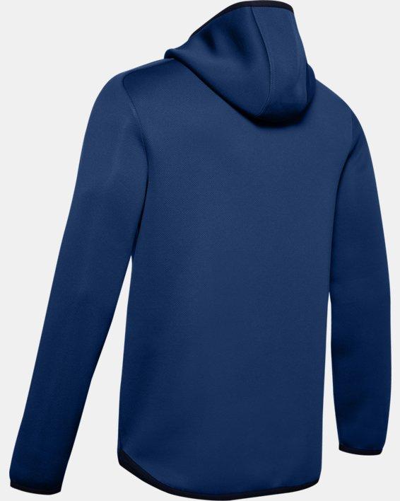 Men's UA /MOVE ½ Zip Hoodie, Blue, pdpMainDesktop image number 5