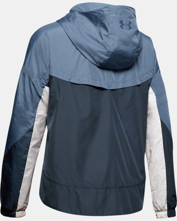 Women's UA Always On Woven Jacket, Gray, pdpMainDesktop image number 4