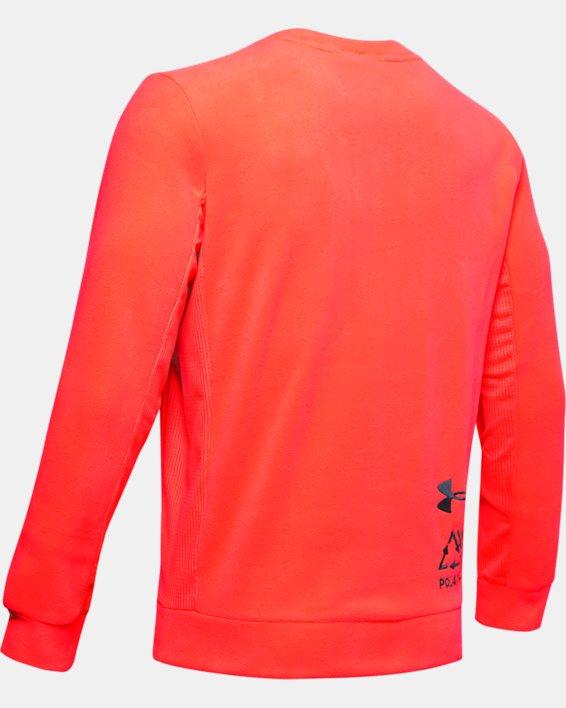 Polaire UA Trek pour homme, Orange, pdpMainDesktop image number 5