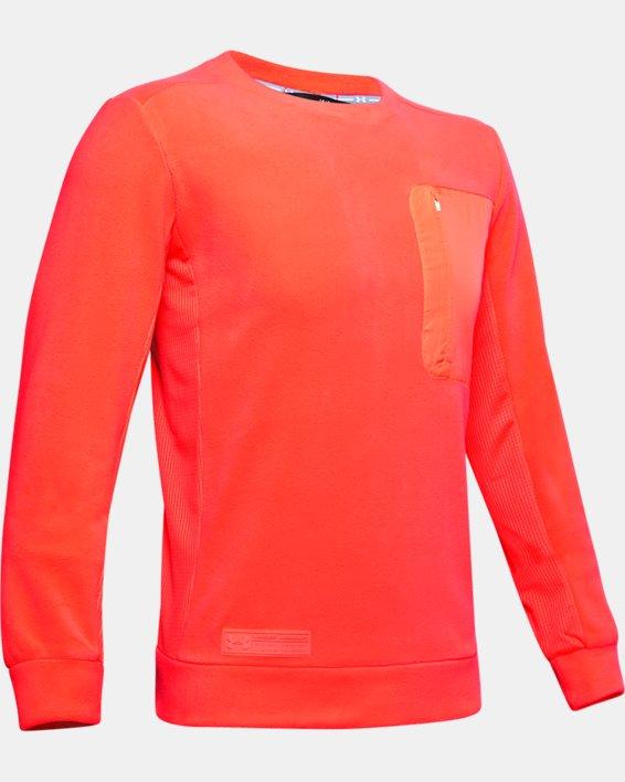 Polaire UA Trek pour homme, Orange, pdpMainDesktop image number 4