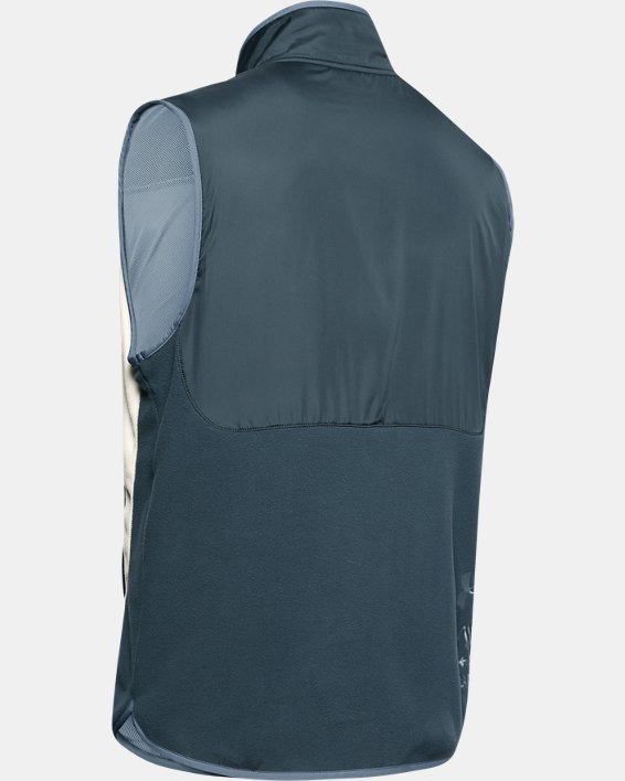 Men's UA Always On Polar Fleece Vest, Gray, pdpMainDesktop image number 5