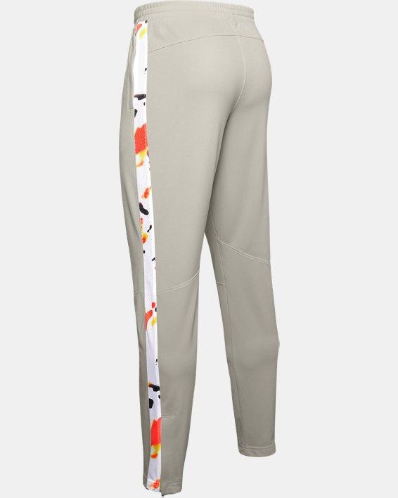 Men's UA Sportstyle Pique Upstream Camo Track Pants, White, pdpMainDesktop image number 4