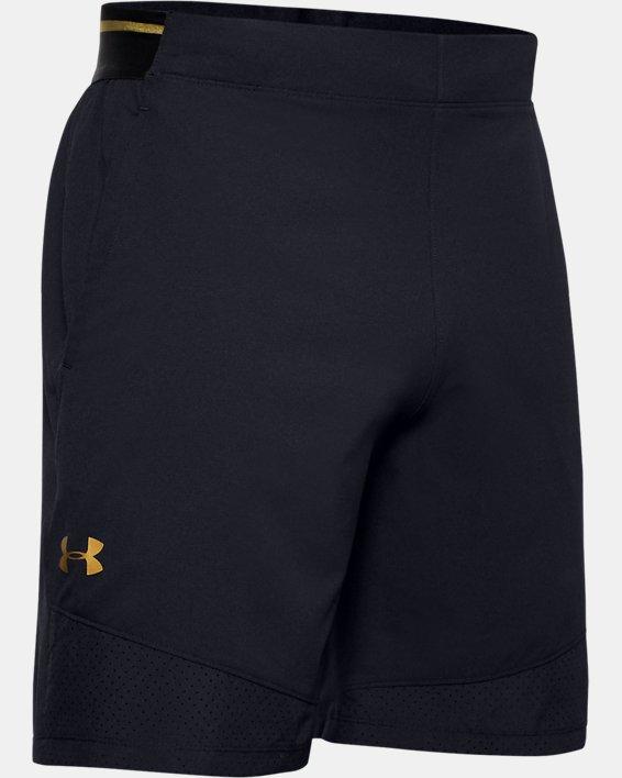 Men's UA Vanish Woven Upstream Camo Shorts, Black, pdpMainDesktop image number 3