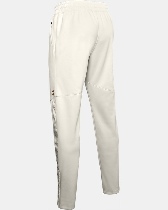 Men's UA RECOVER™ Knit Upstream Camo Warm-Up Pants, White, pdpMainDesktop image number 4