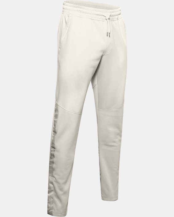 Men's UA RECOVER™ Knit Upstream Camo Warm-Up Pants, White, pdpMainDesktop image number 3