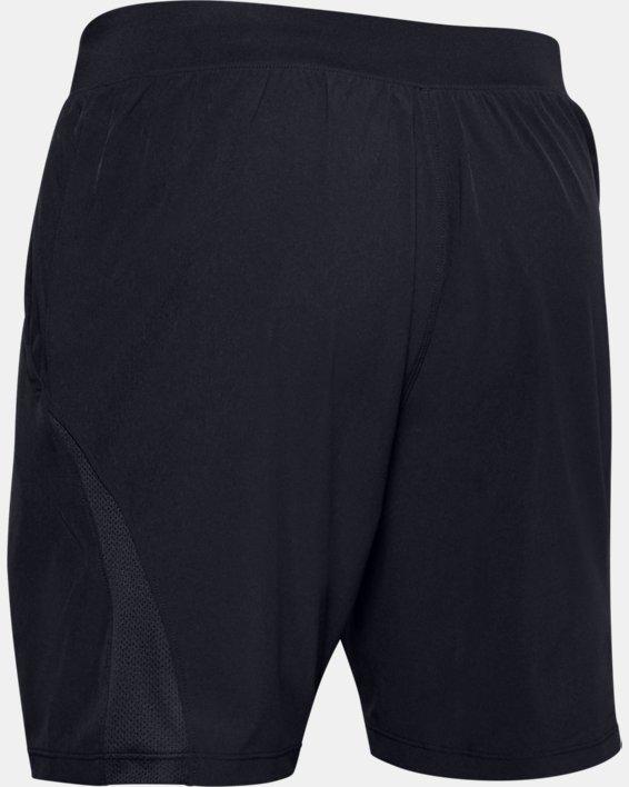 Men's UA Speedpocket 2-in-1 Shorts, Black, pdpMainDesktop image number 4