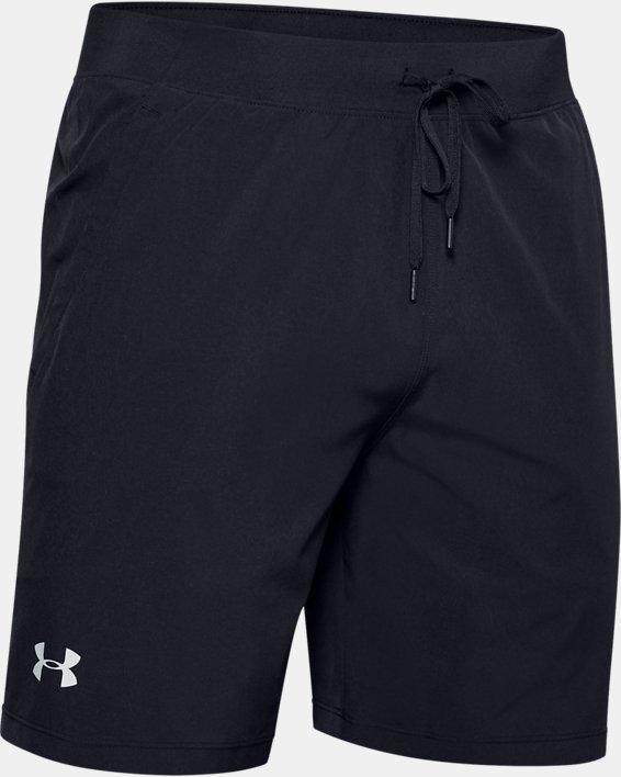 Men's UA Speedpocket 2-in-1 Shorts, Black, pdpMainDesktop image number 3