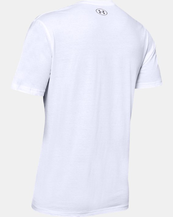 Men's UA Upstream Camo CSH Short Sleeve, White, pdpMainDesktop image number 5