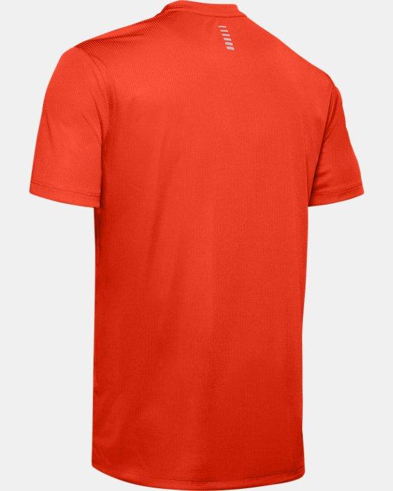 Men's UA Run Graphic Escape T-Shirt, Orange, pdpMainDesktop image number 5