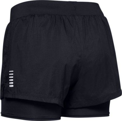 Under Armour Womens speedpocket 2-in-1 Short