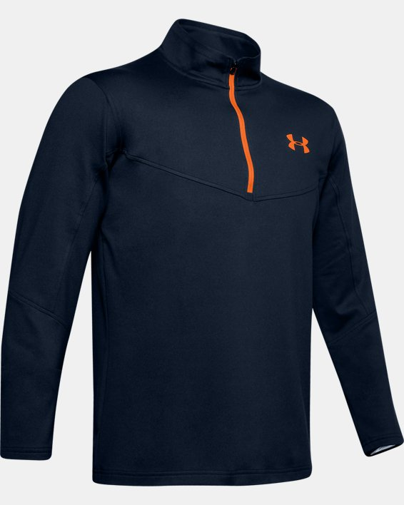 Sweat UA Storm Midlayer ½ Zip pour homme, Navy, pdpMainDesktop image number 3