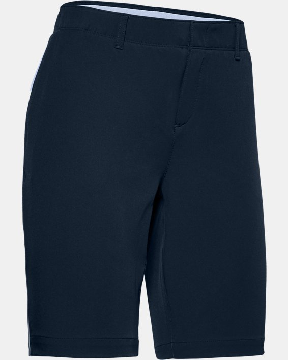 Women's UA Links Shorts, Navy, pdpMainDesktop image number 4