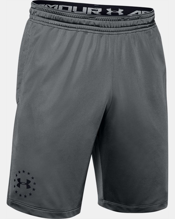 Men's UA Freedom MK-1 Shorts, Gray, pdpMainDesktop image number 4