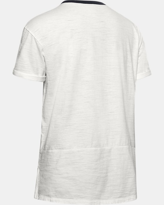 T-shirt à manches courtes Charged Cotton® pour femme, White, pdpMainDesktop image number 5
