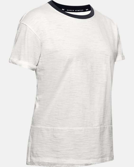 T-shirt à manches courtes Charged Cotton® pour femme, White, pdpMainDesktop image number 4
