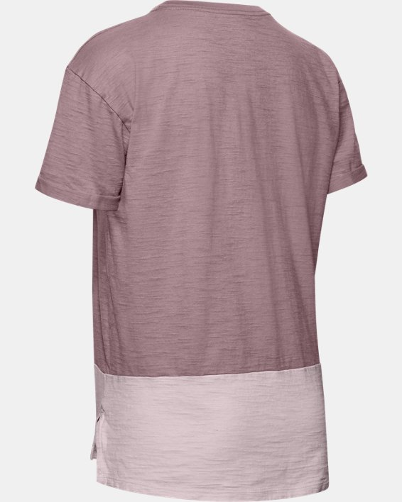 Women's Charged Cotton® Short Sleeve, Pink, pdpMainDesktop image number 5