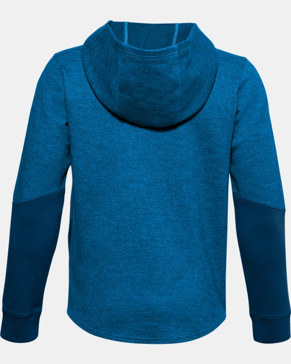 Boys' UA Sportstyle Double Knit Hoodie, Blue, pdpMainDesktop image number 1