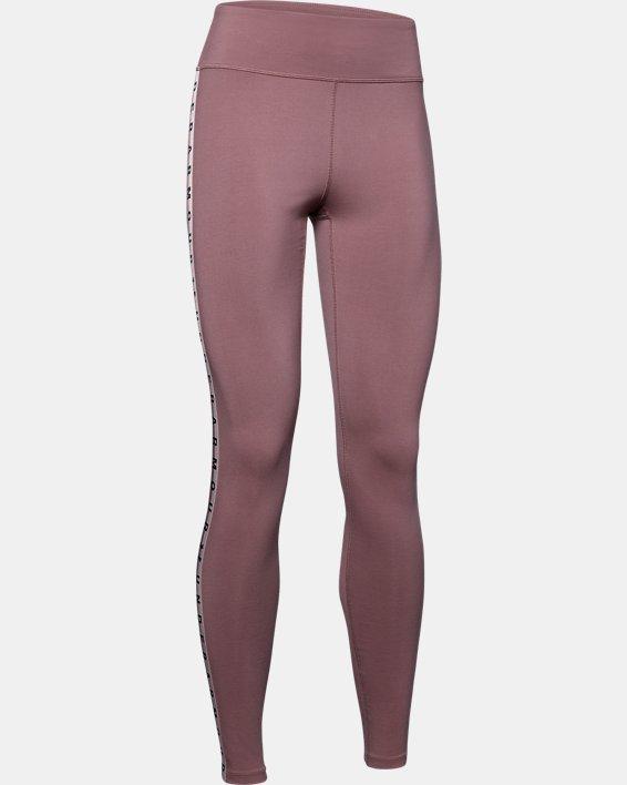 Women's UA Favorite Branded Leggings, Pink, pdpMainDesktop image number 4