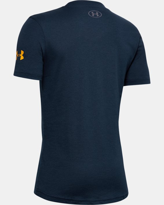 Boys' Project Rock Brahma Bull T-Shirt, Navy, pdpMainDesktop image number 1