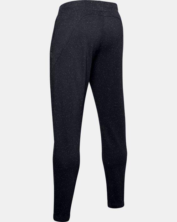 Men's UA Speckled Fleece Joggers, Black, pdpMainDesktop image number 4
